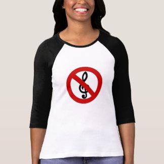 Camiseta Nenhum triplo