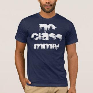 Camiseta nenhuma classe, mmlv