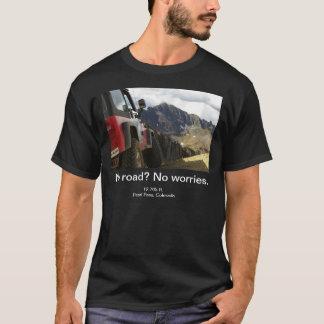 Camiseta Nenhuma estrada - nenhumas preocupações - Colorado