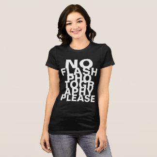 Camiseta Nenhuma fotografia instantânea por favor
