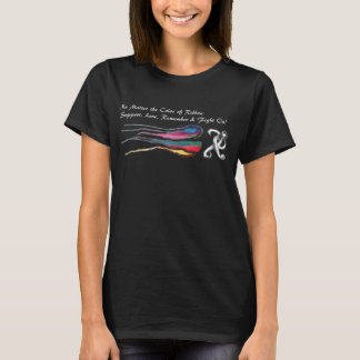 Camiseta Nenhuma matéria a cor da fita: Luta sobre!