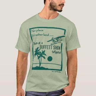 Camiseta Nenhuma mostra de Buffett do lugar…