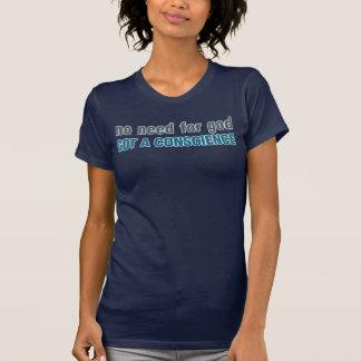 Camiseta Nenhuma necessidade para o deus, obtida uma