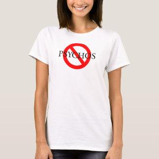Camiseta Nenhuma pia batismal preta de Psychos