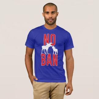 Camiseta Nenhuma proibição do cordeiro dos alces