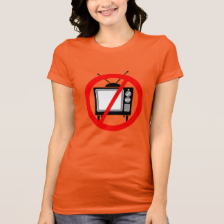 Camiseta NENHUMA tevê -