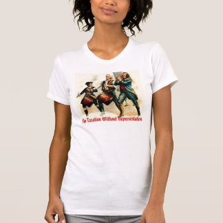 Camiseta Nenhuma tributação sem representação
