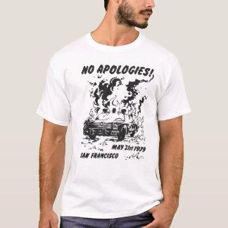 Camiseta Nenhumas desculpas