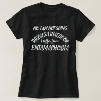 Camiseta Nenhumas portas que eu sofro do t-shirt de