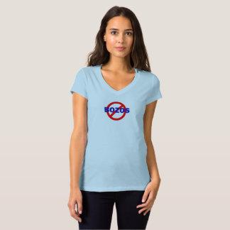 Camiseta NENHUNS BOZOS - o t-shirt 2 da mulher