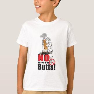 Camiseta NENHUNS BUMBUNS - pare de fumar