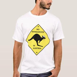 Camiseta Nenhuns cangurus em Áustria!