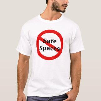 Camiseta Nenhuns espaços do cofre forte