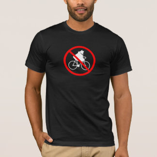 Camiseta Nenhuns ladrões da bicicleta mim
