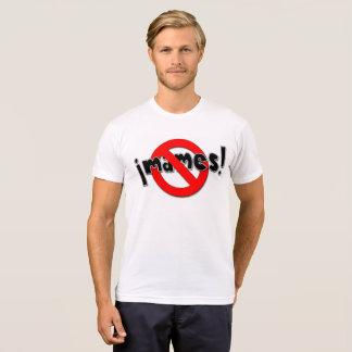 Camiseta nenhuns mames 2