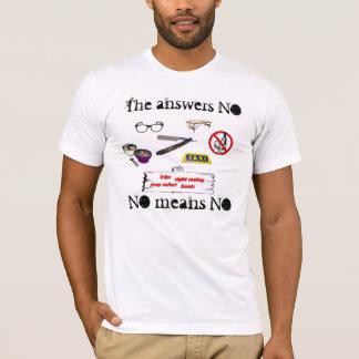 Camiseta Nenhuns meios nenhuns