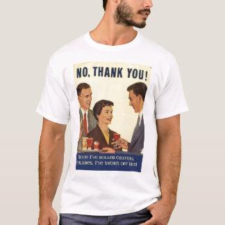 Camiseta Nenhuns obrigados, DADOS!