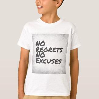 Camiseta Nenhuns pesares