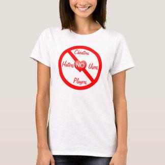 Camiseta Nenhuns tapeadores, aborrecedores, jogadores dos