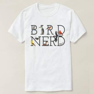 Camiseta Nerd do pássaro