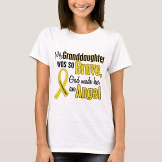 Camiseta Neta do ANJO 1 do cancer da infância