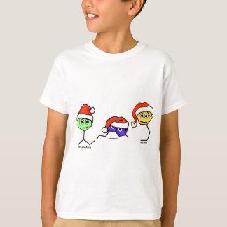 Camiseta Neurotransmissor em chapéus do papai noel
