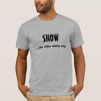 """Camiseta """"Neve… t-shirt de Sledders.com da outra droga"""