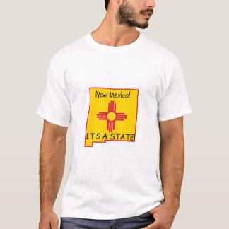 Camiseta New mexico, seu um estado!