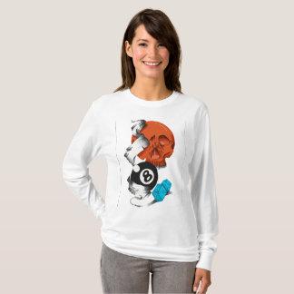 Camiseta new school style,caveiras,skulls,skate style,rock