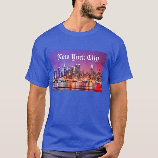 Camiseta New York City Skyline
