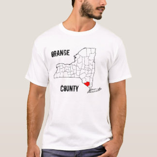 Camiseta New York: Condado de Orange