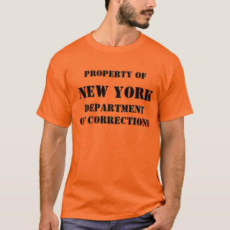 CAMISETA NEW YORK, CORREÇÕES DE DEPARTMENTOF