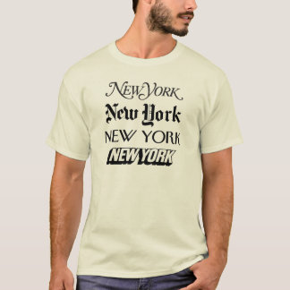 Camiseta New York, New York