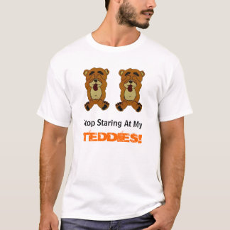 Camiseta NEWBEARS, parada que olha fixamente no meu,