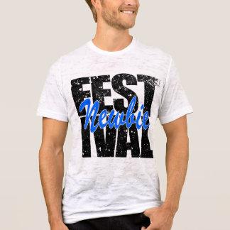 Camiseta Newbie do festival (preto)