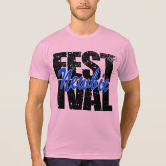 Camiseta Newbie do festival (preto)