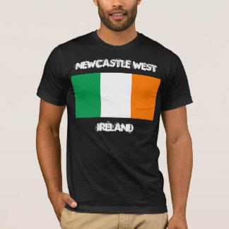 Camiseta Newcastle ocidental, Ireland com bandeira