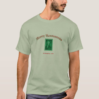 Camiseta Newtonmas alegre
