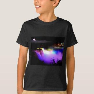 Camiseta Niagara-Queda-sob-projector-em-noite