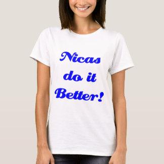 Camiseta Nicas melhora!