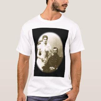 Camiseta Nicholas e Alexandra