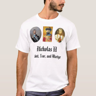 Camiseta Nicholas_II