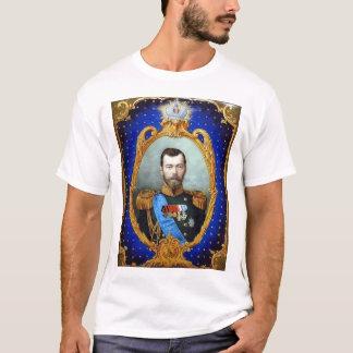 Camiseta Nicholas II - Azul