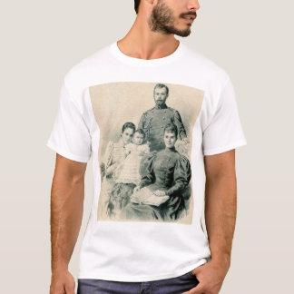 Camiseta Nicholas II e família