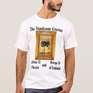 Camiseta Nicholas II e George V