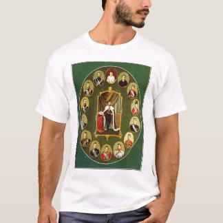 Camiseta Nicholas II - Múltiplo