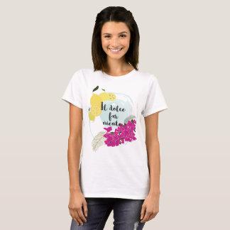 Camiseta Niente distante de dolce do IL