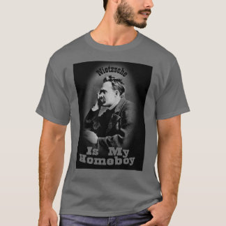 Camiseta Nietzsche é meu ficar em casa