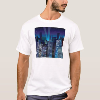 Camiseta NightCityScape_VectorDTL