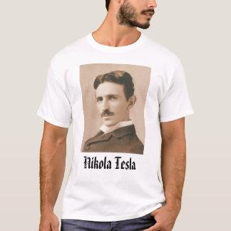 Camiseta Nikola Tesla - personalizada
